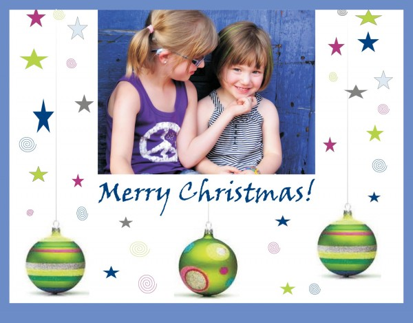 Holiday Portrait Cards