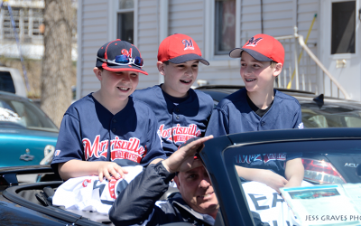Morrisville Little League Opening Day